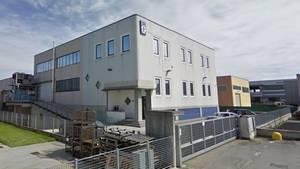Das Gebäude einer Rheinmetall-Tochter in Italien