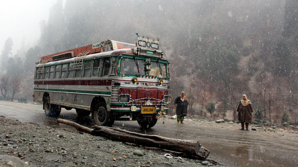 Busunglück in Indien (Symbolbild)
