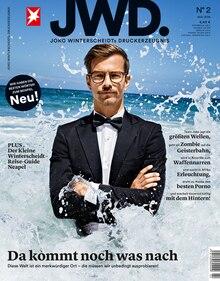 Cover der zweiten Ausgabe JWD. Joko Winterscheidts Druckerzeugnis