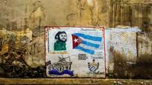 Graffito Kuba Castro
