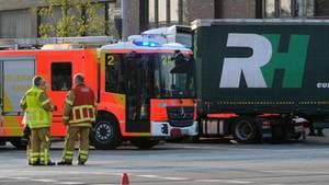 nachrichten: Ein Lkw-Unfall in Hannover