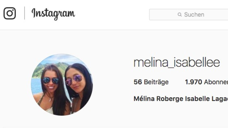 Instagram-Profil der beiden Kanadierinnen