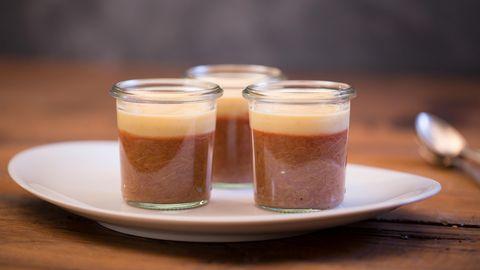 Rezepte zum Nachkochen: Pinker Puddingtraum für Rhabarber-Liebhaber