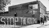 Opfer: Edward Duling, 29. Die Aufrufe, mit Dosen in Zäune geschrieben, findet man überall in der South Side