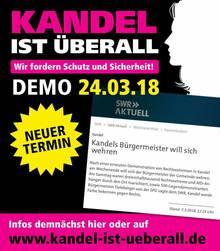 16. 3. 2018, 7.53 Uhr: Kandel steht im Chat für den Kampf auf der Straße. Die Ermordung eines Mädchens in der Stadt in der Südpfalz motiviert viele in der Whatsapp-Gruppe