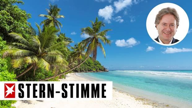 Bestes Gesprächsthema bei der Massage: traumhafte Palmenstrände