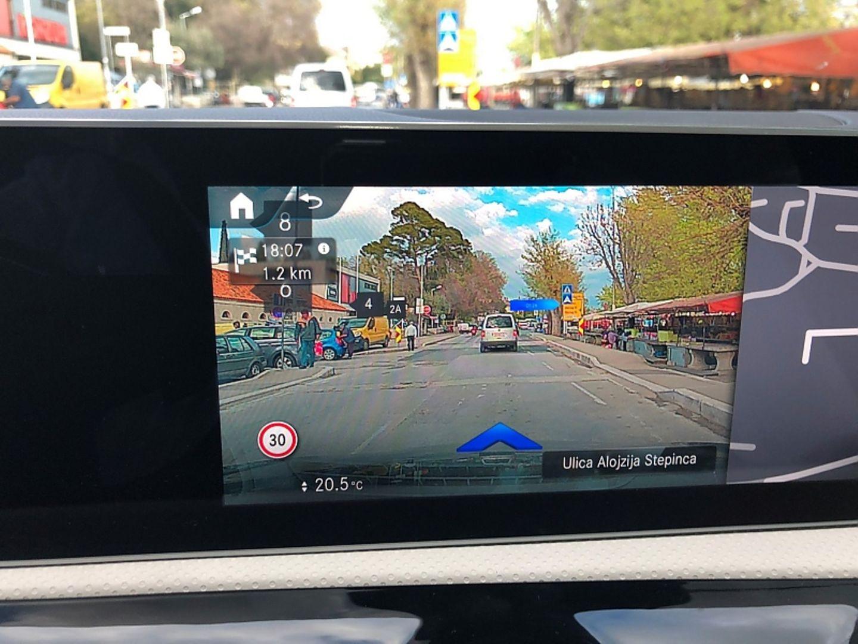 Grandios: Die Augmented Reality macht das Navigationssystem idiotensicher