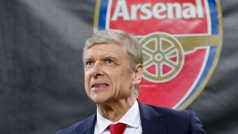 Arsène Wenger hört am Ende der Saison als Trainer des FC Arsenal auf
