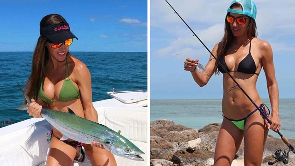 """Fishing with Luiza"": Brasilianerin angelt im Bikini - und erzielt damit Millionenabrufe bei Youtube"