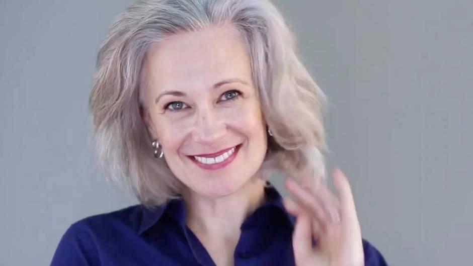 Beauty-Trend: Mit diesen vier Tipps pflegt man graue Haare richtig