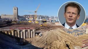 Die Baugrube des Bauprojekts Stuttgart 21 erweist sich als ein Milliardengrab.