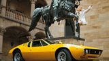 Bei der Wahl zwischen Bronzepferd und dem Tomaso Mangusta von 1970 sollte die Entscheidung eigentlich klar sein.