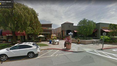 Das Corte Madera Town Center in der kalifornischen Stadt Corte Madera.