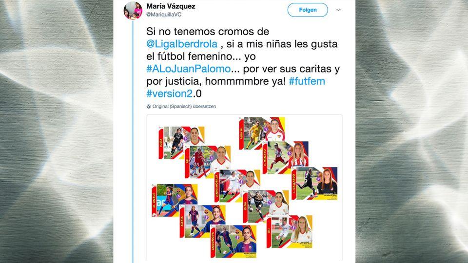 Für ihre Töchter: Sammelalben nur für Männer? Eine Mutter hat eigene Sticker von Fußballerinnen gebastelt