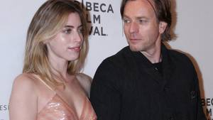 Clara und Ewan McGregor beimTribeca Film Festival