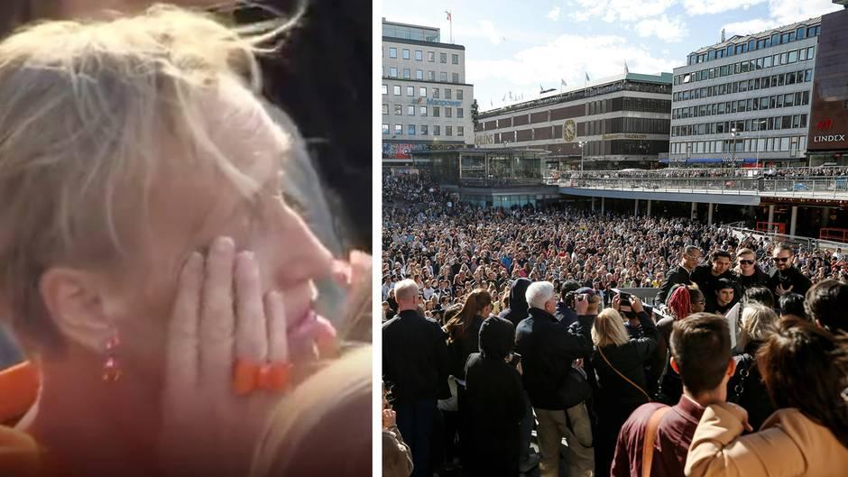 Gedenken in Stockholmer Innenstadt: Avicii: So rührend erinnern sich schwedische Fans an den weltbekannten DJ