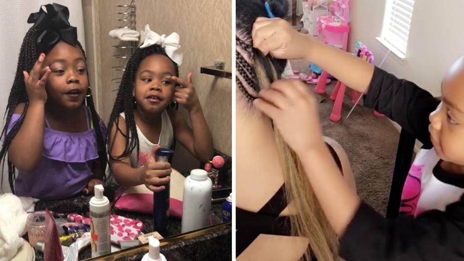 Kleine Instagram-Stars: Diese Kinder können besser Zöpfe flechten als jeder Friseur