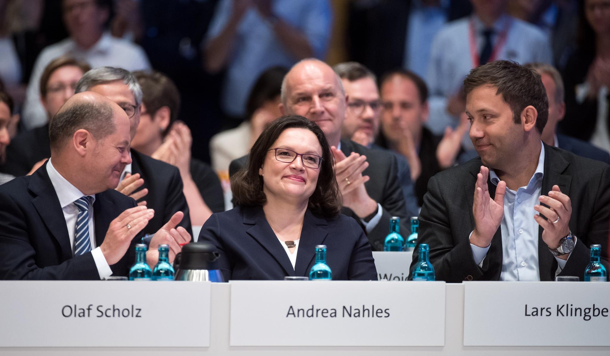 Andrea Nahles Kassiert Ohrfeige Pressestimmen Zur Neuen SPD