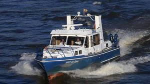 In Hamburg ist am Montag eine Wasserleiche aus der Elbe geborgen worden (Symbolfoto der Wasserschutzpolizei)