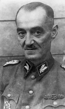 Oskar Dirlewanger im Jahr 1944.