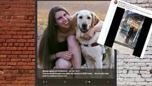Danielle und ihr Blindenhund Thai