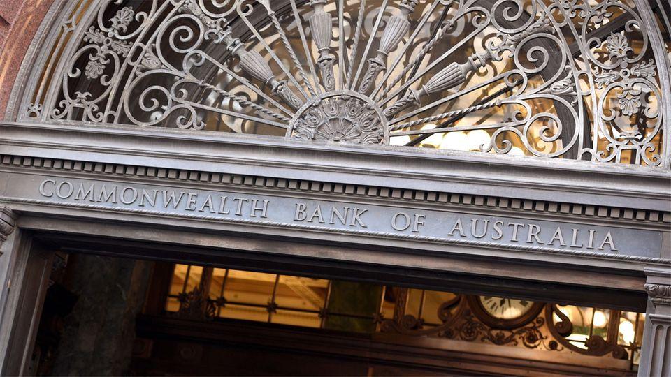 Gebäude der Commonwealth Bank of Australia in Sydney