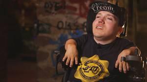 "Nicolas Uhl ist unter dem Namen ""Drive-By"" als Rapper aktiv."