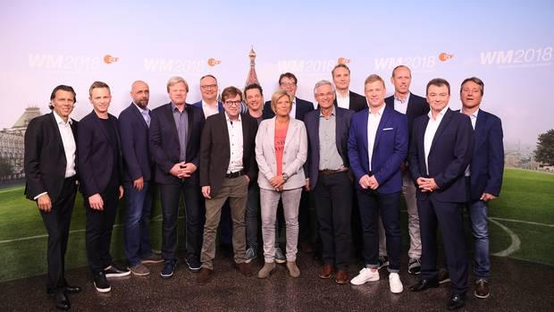 Das WM-Team des ZDF