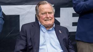 Früherer US-Präsident: George H. W. Bush auf Intensivstation