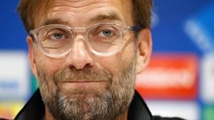Jürgen Klopp im Portrait vor dem Champions League Halbfinale gegen AS Rom