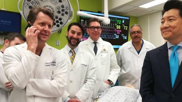 Medizinisches Team der Johns Hopkins Universität