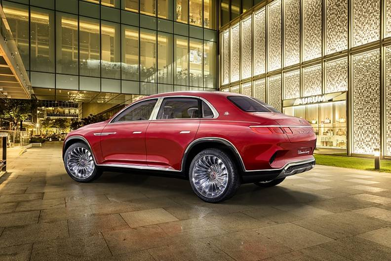 Vision Mercedes Maybach Ultimate Luxury - 5,24 Meter lang