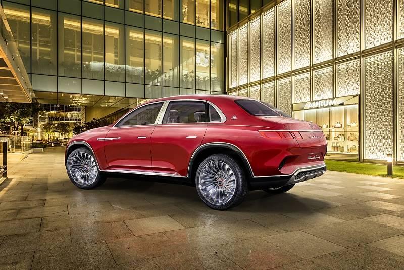 vision mercedes maybach ultimate luxury: traumwagen | stern.de