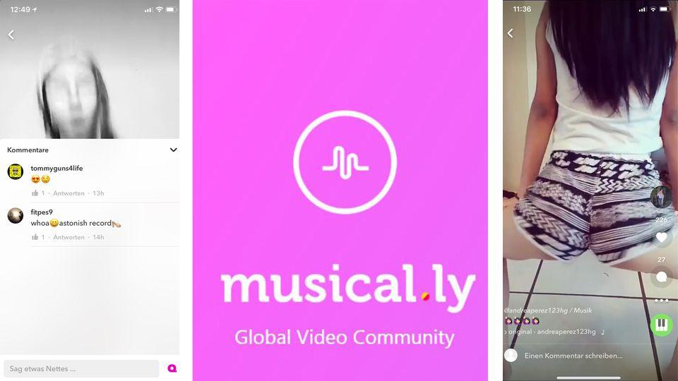 Bei Musical.ly finden sich jede Menge sexuelle Posen - auch von Minderjährigen