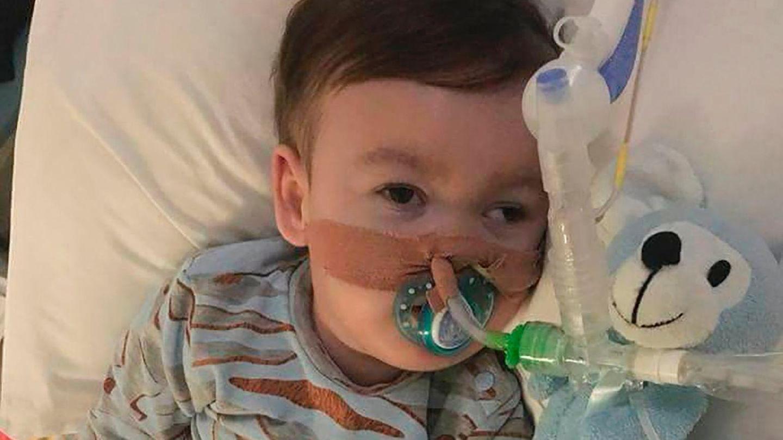 Alfie Evans in einem Krankenhaus von Liverpool