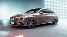 Mercedes A-Klasse Limousine - kann sich auch als Limousine sehen lassen