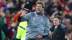 Jürgen Klopp hatte im Champions-League-Halbfinale viel zu Jubeln