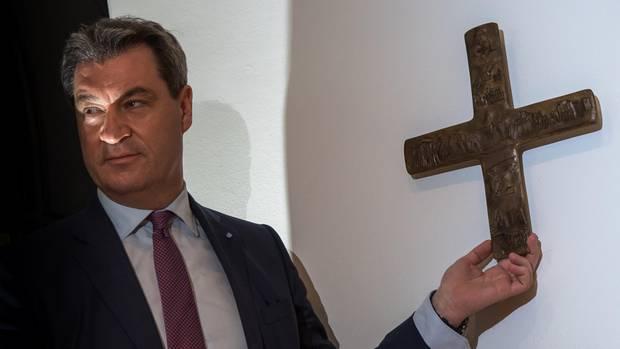 """Markus Söder: """"Das Kreuz ist nicht ein Zeichen einer Religion"""""""