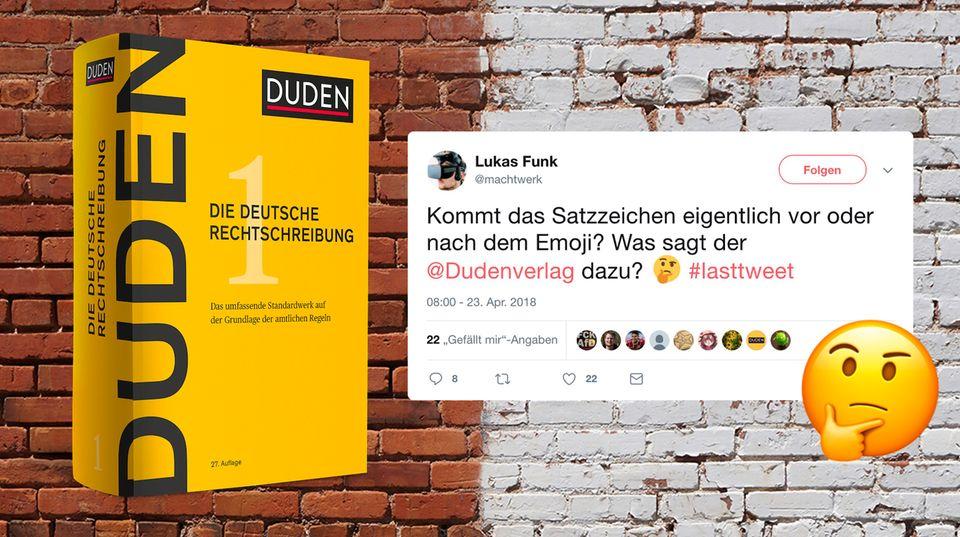 Twitter-User fragt Duden nach Emojis