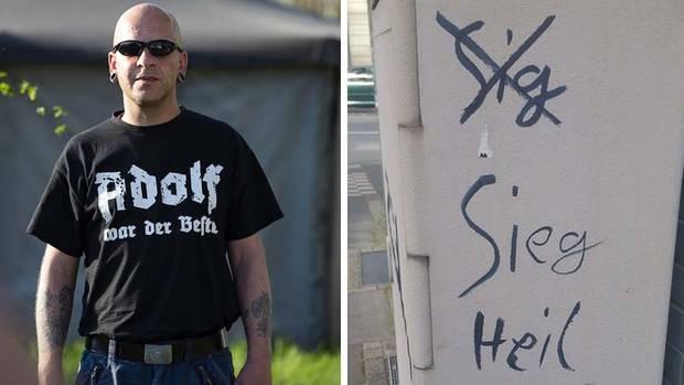 Nazi-Schmiereien offenbaren mangelnde Deutschkenntnisse