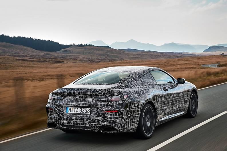Der BMW 8er ist 14 Zentimeter kürzer als der BMW 6er