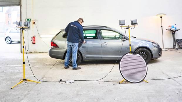 Fahrzeugcheck in der WKDA-Halle: Trotz Extras und Winterreifen sank der Preis deutlich