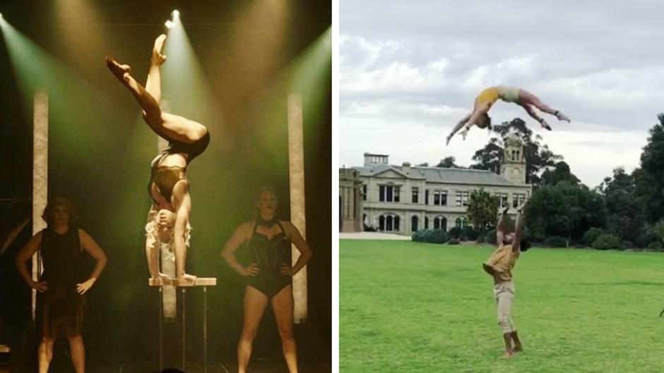 Annalise Moore: Diese Akrobatiknummern eignen sich garantiert nicht zum Nachmachen