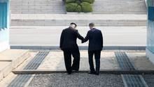 Kim Jong Un Moon Jae In Nordkorea Südkorea