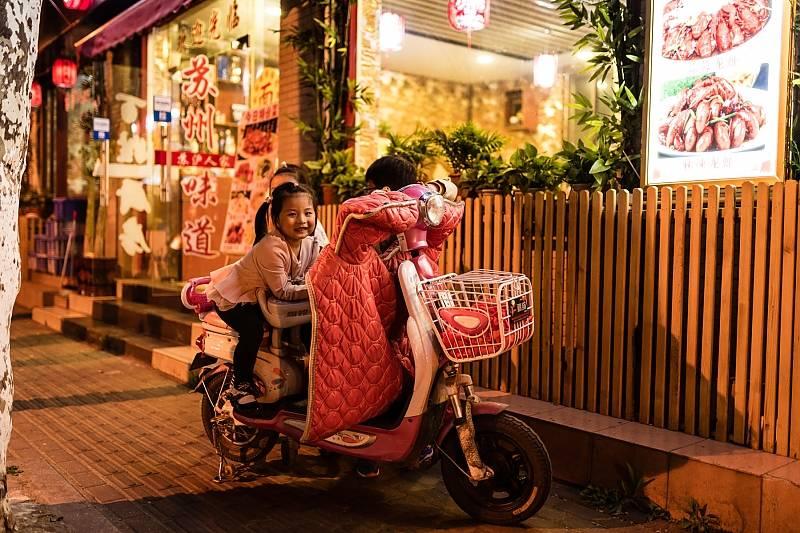 Auf den Straßen von China 2018