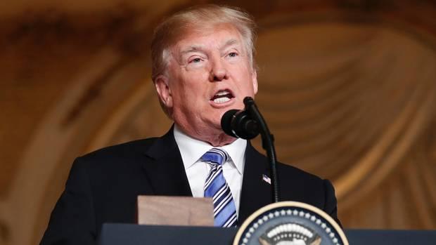 Donald Trump WM-Vergabe
