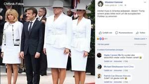 Donald Trump Fotomontage