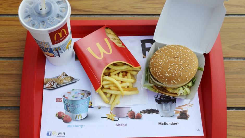 Ein Big Mac Menü