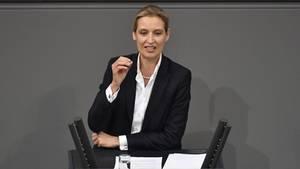Alice Weidel im Deutschen Bundestag