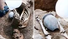 75 Skelette aus der Römerzeit in York gefunden